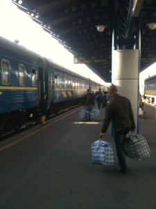 Kyiv Central Train Station