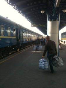 Kyiv Central Train Station