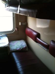 Ukraine Train Berth.