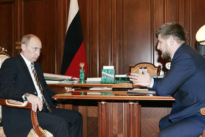 Kadyrov feels the need to beat the drums