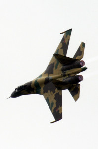 Russian Air Force Moves Frontline Fighter To Syria Amid Turkish Tensions