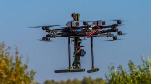 Russian battlefield robot swarm