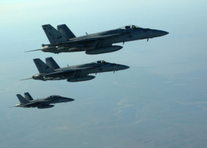 Russia And American Jets In Shotless Dog Fight
