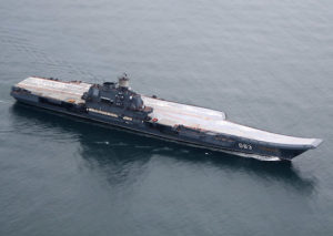 Russian aircraft carrier to Syria