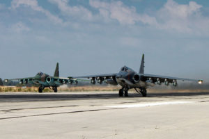 Russia Attacks US base in Syria