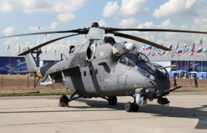 MI-35 downed in Syria by ISIS