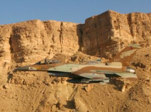IAF Fires on Russian Aircraft over Israel
