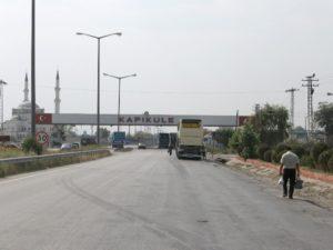 Bulgarian Turkish border
