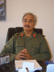 Libyan military asks for Russian support