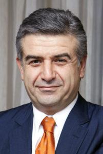 Karen Karapetyan appointed as PM in Armenia