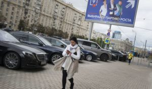 Opinion:  Muscovites Play While Political Freedom Disappears