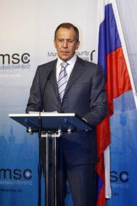 Lavrov plays up NATO threat