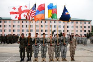 Armenian Military Exercises In Georgia