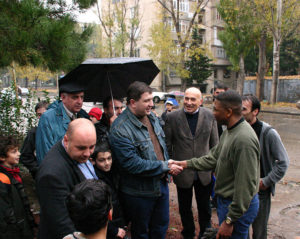 Ex mayor of Tibilisi released from prison