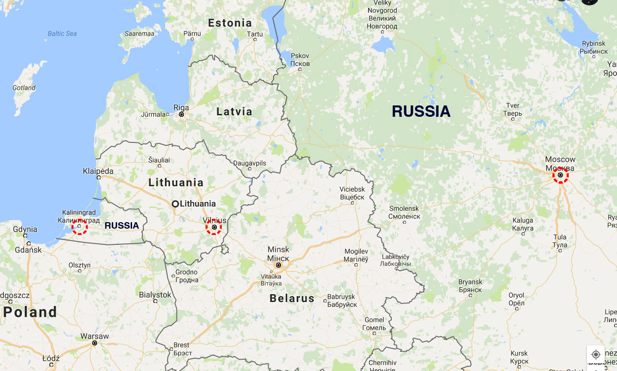 Lithuania To Build A Fence On Russian Border