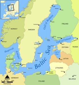 100,000 Russian troops on Baltic border