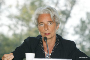 Lagarde says IMF bailout for Ukraine moving forward