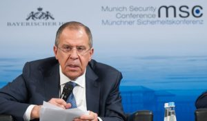 Lavrov: Russia wants 'post West' world order