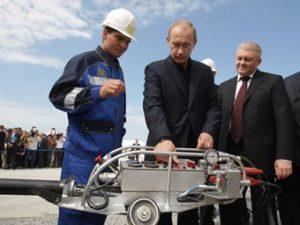 Putin Signs Nordstream Pipeline legislation