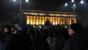 13th day of Romanian protest draws tens of thousands