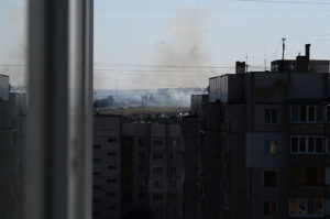 Ukraine rebel leader killed in apartment blast