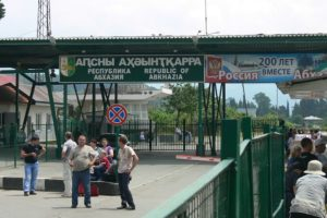 Abkhazia Restricts De Facto Border With Georgia. Abkhazia Leaving Only Two Crossing Lines with Georgia.
