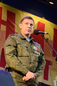 Separatist leader suspends economic ties with Ukraine