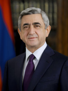 Serzh Sargsyan - President Of Republic of Armenia