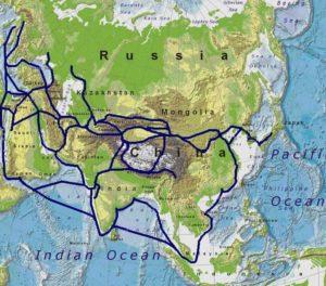New Silk Road Runs Through Former Soviet Territory To Europe