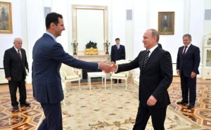 Russia Says Support For Assad Not Unconditional