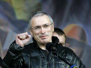 Russia Bans 'Open Russia' From Khodorkovsky