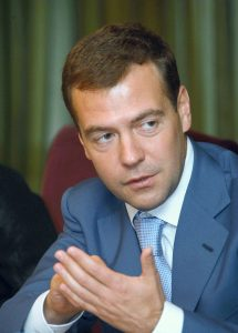 Half of Russians think Medvedev should resign