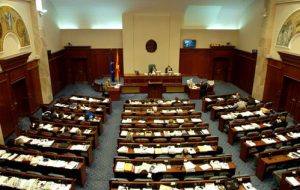 """""""This Is A Coup"""": Masked Men Storm Macedonia Parliament"""