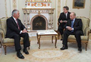 Putin Avoiding Tillerson
