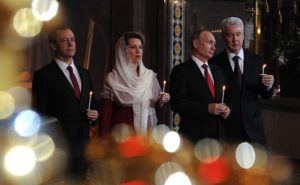 Putin Greets Orthodox Christians And All Russians For Easter
