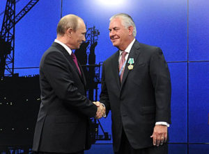 Tillerson visits Moscow