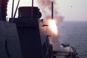 U.S. Launches Massive Cruise Missile Strike On Syrian Base After Chemical Weapons Attack
