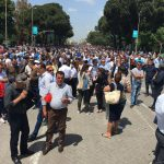 Albanian Opposition Protest, Massive But Peaceful