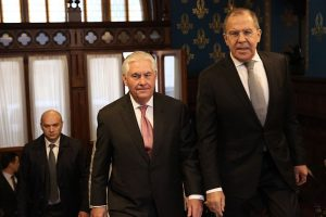 Tillerson and Lavrov to meet in Washington