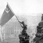 Soviet soldier Reichstag
