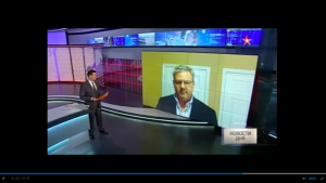 Tsarizm Editor-In-Chief Appears On Zvezda TV In Moscow Discussing General Flynn Situation