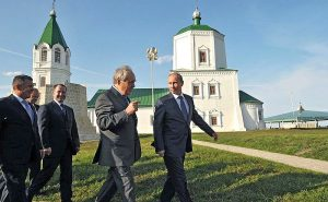Putin Takes An Orthodox Route To Cement Power