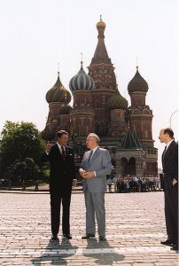 Vladimir Putin doesn't want to be Mikhail Gorbachev