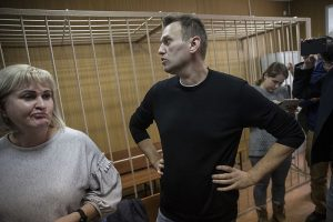 Police Seize Opposition Leader Navalny's Headquarters In Moscow