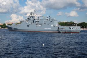 Russian Ships Mass In Baltic Ports For Exercise With Chinese