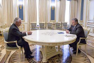 Tillerson Calms Fears In Kyiv