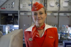 Russian Aeroflot Fights Feminism In Overweight Stewardess' Lawsuits (Naked Stewardess Video)