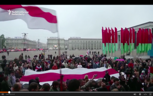 Video: Protests Held In Minsk Against Zapad War Games