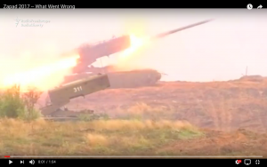 Video:  Zapad...What Went Wrong
