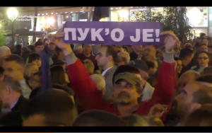 Serbs Demand 'Fair And Democratic' Elections In Belgrade Protest